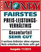 congstar überzeugt: Fairstes Preis-Leistungs-Verhältnis 2015