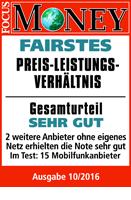 congstar überzeugt: Fairstes Preis-Leistungs-Verhältnis 2016
